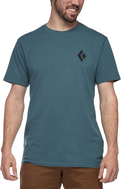 Black Diamond Equipment For Alpinists SS Tee Herre raging sea